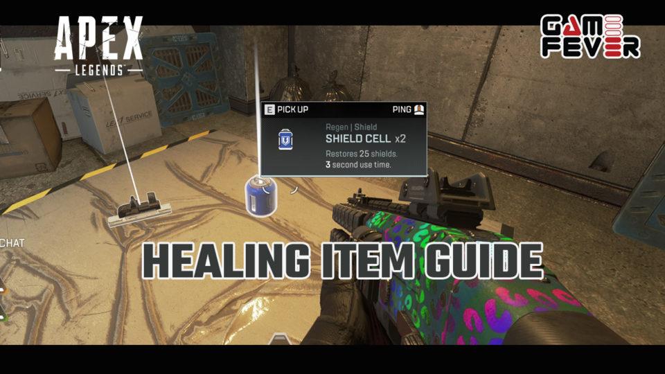 Healing Item Guide - Apex Legends Guide | GameFever ID