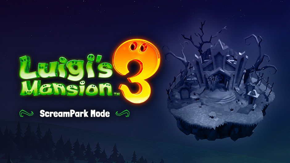 Info Mode Screampark Di Luigi S Mansion 3 Gamefever Id