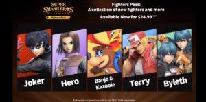 Super Smash Bros. Ultimate Tambahkan Byleth