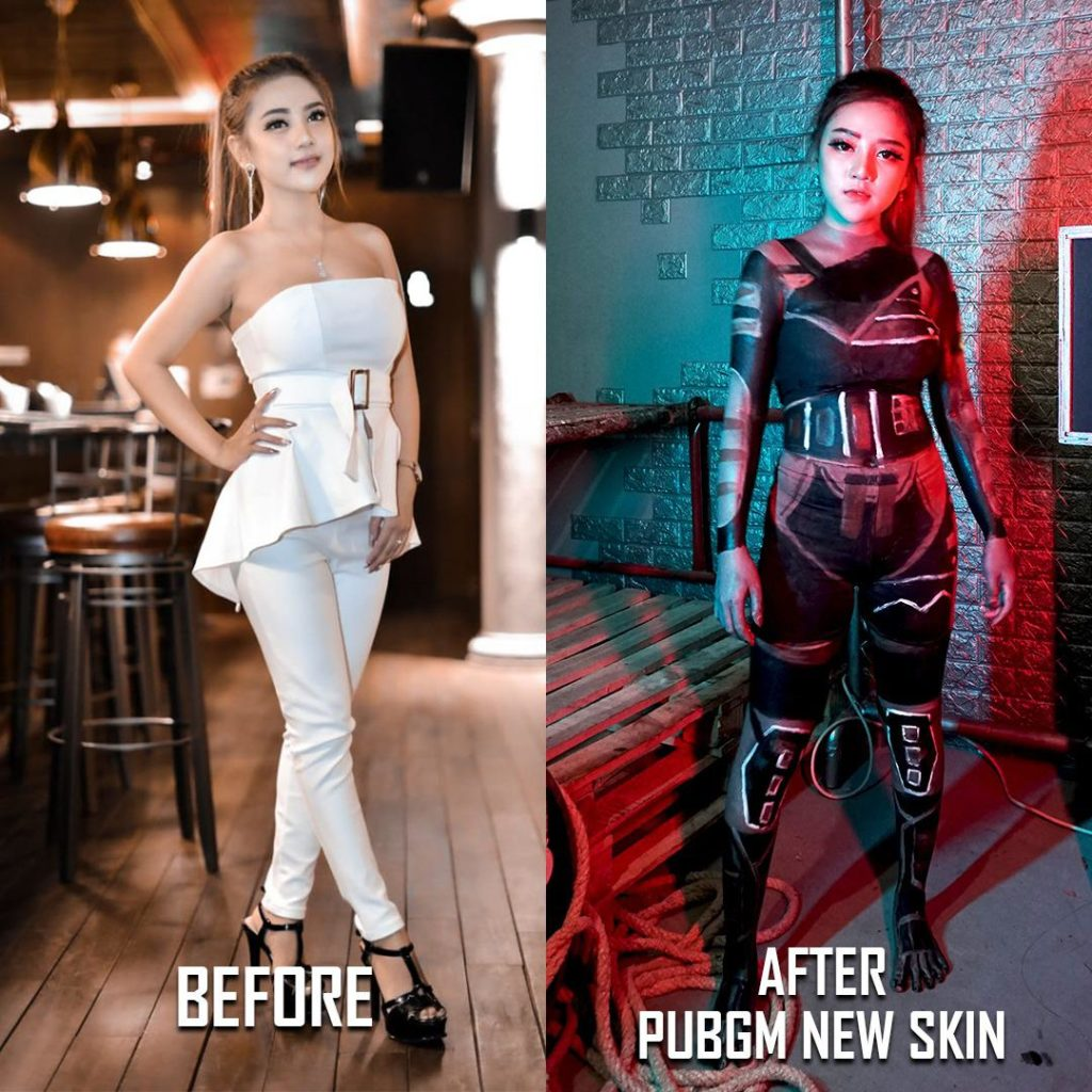 Body Painting PUBG MOBILE