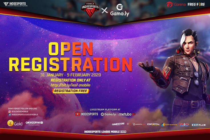 Open Regist INDOESPORTS League Mobile FF S1
