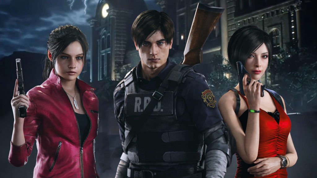 GFID REChara 1024x576 - Alasan Kenapa Resident Evil Jadi Game Horor Terbaik