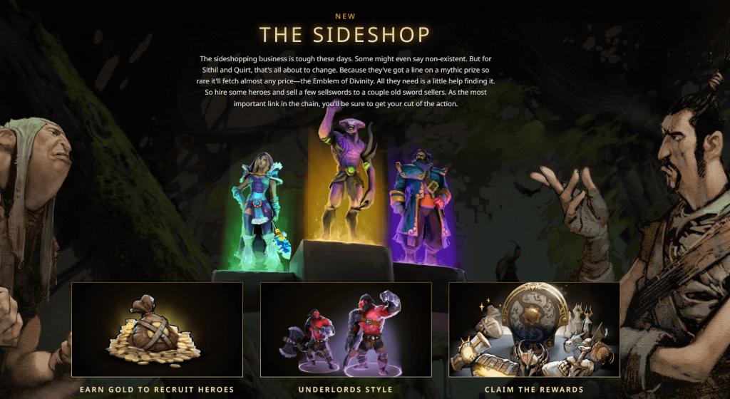 Dota 2 Battle Pass Side Shop