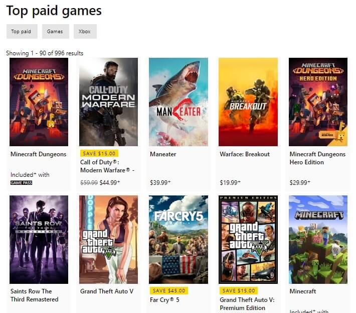 Minecraft Dungeons Game No.1 di Nintendo eShop dan Xbox Saat Ini