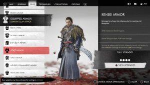 (Guide) Ghost of Tsushima - Cara Mendapatkan Semua Armor