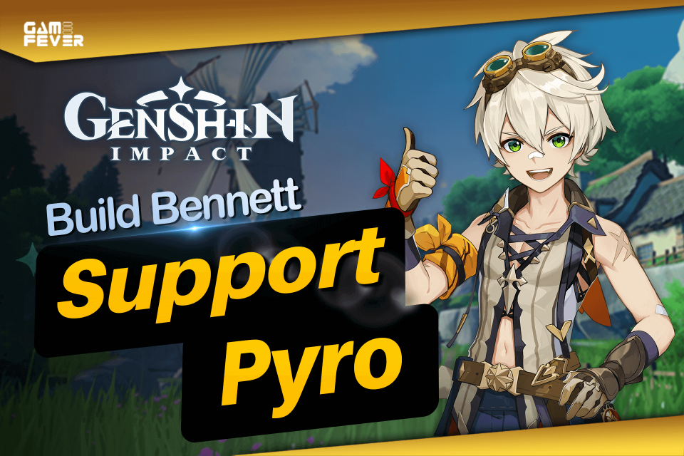 Build Bennett Terbaik Support Genshin Impact Indonesia