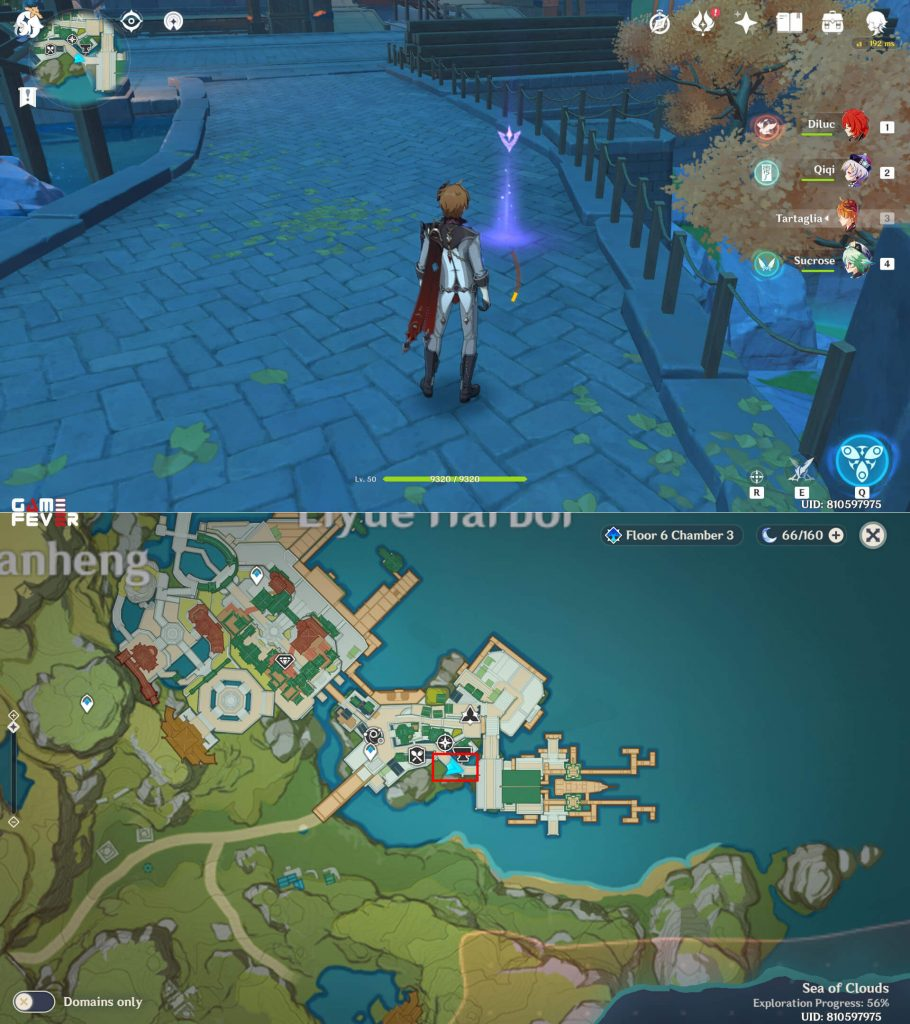 [Genshin Impact] Spot Lokasi Arsip Geografi Liyue