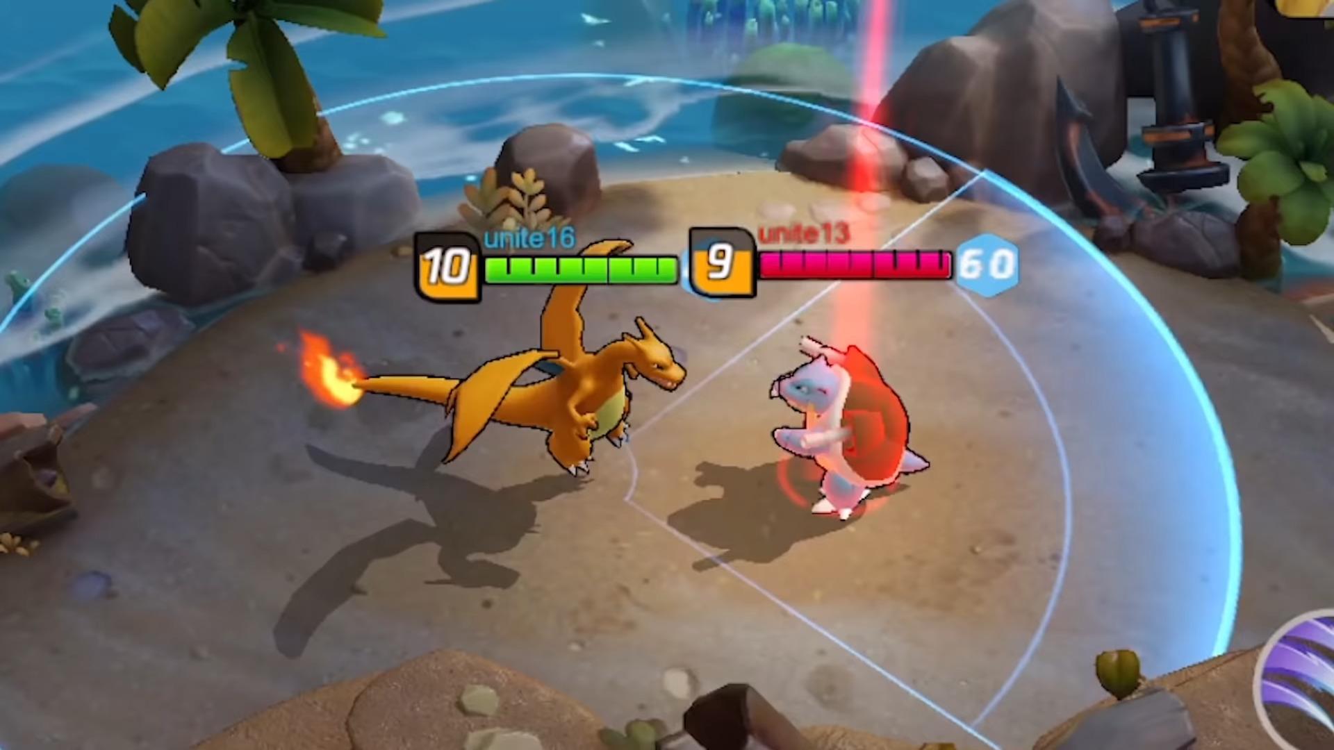 Bocor Seperti Inilah Gameplay Dari Pokemon Unite Gamefever Id