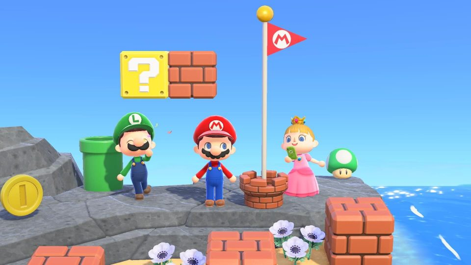 Animal Crossing: New Horizons dapatkan konten bertema Super Mario Bros.