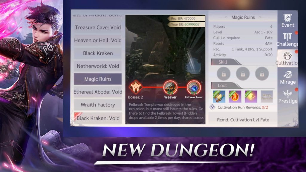 Perfect World Mobile New Dungeon