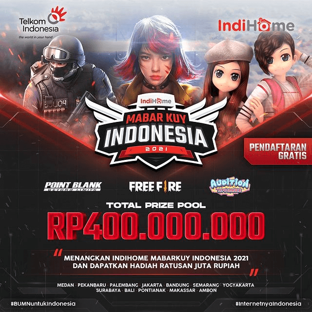 IndiHome MabarKuy Indonesia 2021