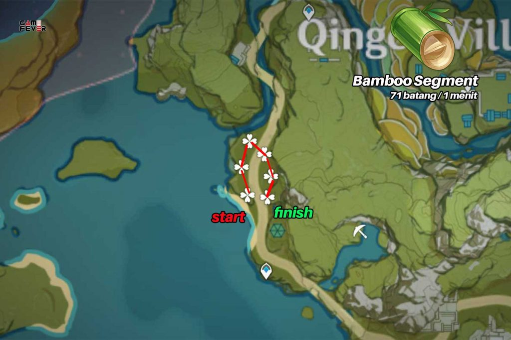 Rute Bamboo Genshin Impact