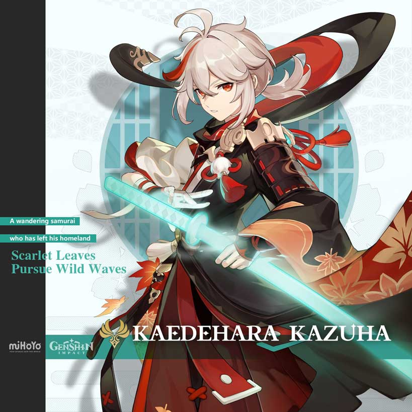 Genshin Impact - Kaedehara Kazuha