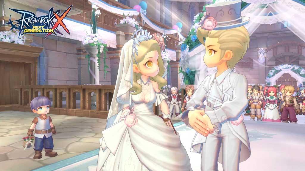 Fitur menikah di Ragnarok X Next Generation.